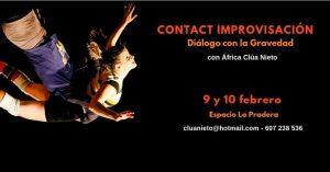 Taller Contact Improvisación - Diálogo con la Gravedad @ Espacio La Pradera | Madrid | Spain
