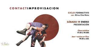 Contact Improvisación + Jam Música en Vivo con África Clúa Nieto @ Espacio La Pradera | Madrid | Spain