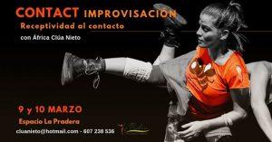 Intensivo Contact Improvisación - Receptividad al contacto @ Espacio La Pradera | Madrid | Spain