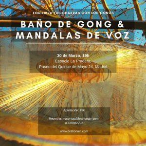 Baño de Gong & Mandalas de Voz en Madrid @ Espacio La Pradera | Madrid | Spain