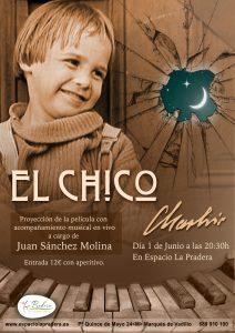 Tarde de Chaplin - proyección El Chico con música en vivo. @ Espacio La Pradera