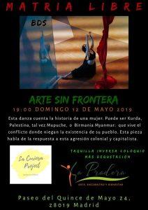 Matria libre - Arte sin frontera con Mariana Behoteguy Chavez. @ Espacio La Pradera