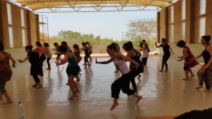 Danza Africana en Espacio La Pradera