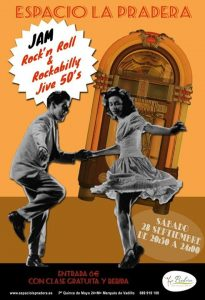 Fiesta Jam Rock'n'Roll & Rockabilly Jive 50's @ Espacio La Pradera | Madrid | Spain